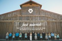 Just Married / Featuring the style of six couples who found the perfect fit on their wedding day. / by Minnetonka Moccasin