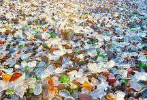 Spiagge di vetro