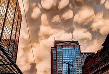Different cloud shapes
