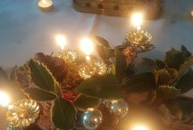 my deco for christmas / decoration christmas paris small apartment and tables