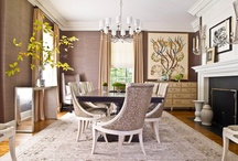 Dining Spaces- S.B. Long Interiors / Collection of Dining Spaces designed by S.B. Long Interiors