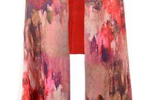 Jayley Floral Silk Cashmere Wraps