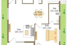 House plans - WEST FACING