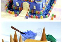 castle cake tutorials