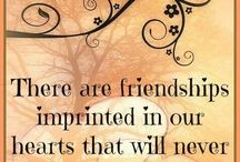 """Friendship / """"Because even the smallest of words can be the ones to hurt you, or save you."""""""