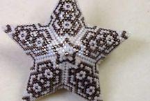 hvězdička šitá
