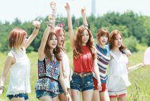 Apink / 에이핑크 Plan A Entertainment. Members: Chorong, Bomi, Eunji, Naeun, Namjoo, and Hayoung