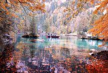 Swiss travel autumn