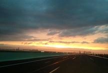 On my way to Kansai International Airport, Osaka, Japan. /