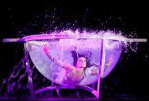 """WateR BowL AcT / Water Bowl Act  Water bowl """"Kula wodna"""" to wyjątkowy akt zapoczątkowany przez Cirque du Soleil w spektaklu Zumanity w 2009 roku. Do tej pory wykonywany jest przez 8 osób na świecie. Niesamowity pokaz tańca akrobatycznego, który ukazuje piękno kobiecego ciała w magicznym podwodnym świecie. Spektakl skierowany jest do wysublimowanej grupy odbiorców którzy potrafią docenić prawdziwą sztukę i nietuzinkowość przedstawienia. wwww.diamondshow.pl"""