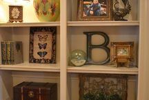 Built in bookcases decorating