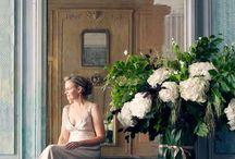 virág kompozíció - flower arrangement