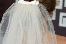 Kurzes Haar  bei der Braut