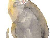cats / by Karin Weindorff