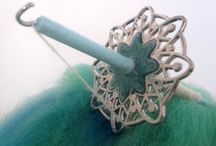 Spindles / Beautiful spindle and spinning pictures.