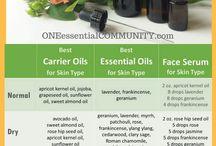 DIY EO reseptit iholle ja hiuksille