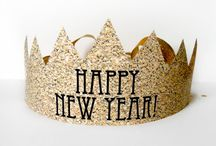New Years DIY Party Ideas / Every good party idea is bought, every GREAT party idea is DIYed! Throw the best New Years Eve party with these amazing DIY decor ideas, recipes, and games!
