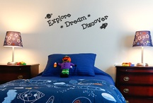 Kids Inspirations Wall Art / Brighten up your kids room with these fun wall stickers. Visit our Kids Decor section to see more exciting designs.  http://www.babyboodecor.com/kids-decor/