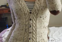knit pattern cardigan