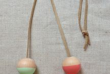 wooden bead crafts