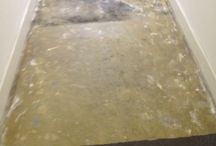 Entry matting at herne hill / In this project we had to lay some matting in a communal area