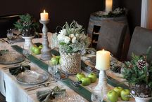 Center pieces & table settings