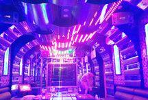 Thiết kế hệ thống ánh sáng trong phòng karaoke.