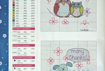 İşlediğim Şablonlar / patterns I stitched