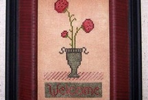 Primitive Cross Stitch / Rustic designs / by Stitch and Frog Cross Stitch