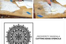 making stencil