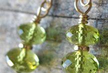 Peridot Jewelry / Peridot jewelry group board.