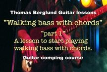 Lessons (various genre course) / Guitar lessons from my various genre course on YouTube.