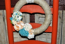 wreaths / by Kate {cheap crafty mama}