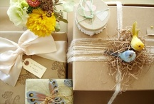 Stylish Gift Wrapping  / by Delane@AutumnWoodBears