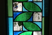 Stained glass creations / Mine and other stained glass / by Alison Gallagher