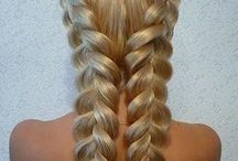 Braided hairstyles - game of thrones / Long hair braid