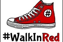 #WalkInRed 2015 / #WalkInRed2015 Wear red shoes, socks or other clothes on April 2 to show solidarity with #ActuallyAutistic people