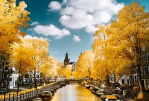 Amsterdam Travels / Inspired before my first trip to Amsterdam in May 2016.