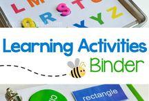 Learning Binders/Folders