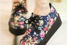 topánky s vysokou podrážkov