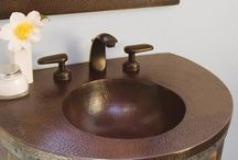 Copper Sinks - Rustic Kitchen & Bath Sinks / Copper Kitchen and Bathroom Sinks are perfect for every decor. Rustic, Cottage, Farmhouse, Victorian,
