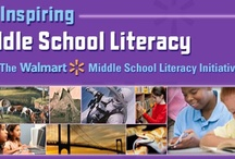 Middle School Literacy / The Inspiring Middle School Literacy collection is a free resource of cross-curricular lessons mapped to the Common Core State Standards. Each lesson uses video, interactive activities, note taking, reading and writing to address a range of literacy strategies such as drawing inferences, comparing and contrasting, and building vocabulary. Teacher guides are included as well. Click here to access the collection. http://www.pbslearningmedia.org/collection/midlit. / by PBS LearningMedia
