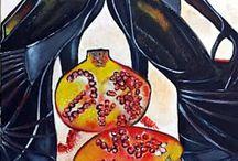 Akril festmények / Acrylic paintings