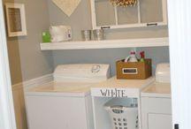 Laundry room / by Kati Sweatt
