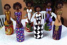 bottle dolls art