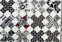 Black and white... quilts