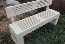 My original work / Original benches and another products from me production zmasivu.cz or skulptura.cz