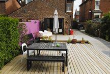 Outdoor Furtniture & Deck Ideas / by Ann Heuberger