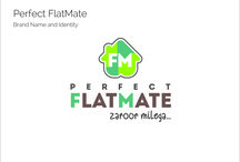 Perfect Flatmate / Brand identity of Perfect Flatmate / by Brandingmonk