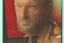 WWE Wrestling Stickers and Trading Cards / Trading Cards and stickers from the WWE.